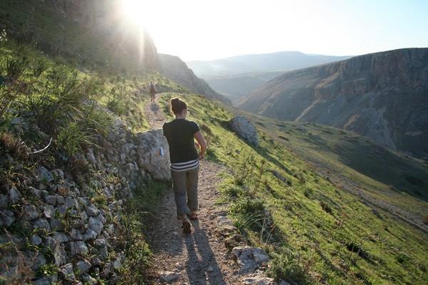 На тропе Иисуса в Израиле