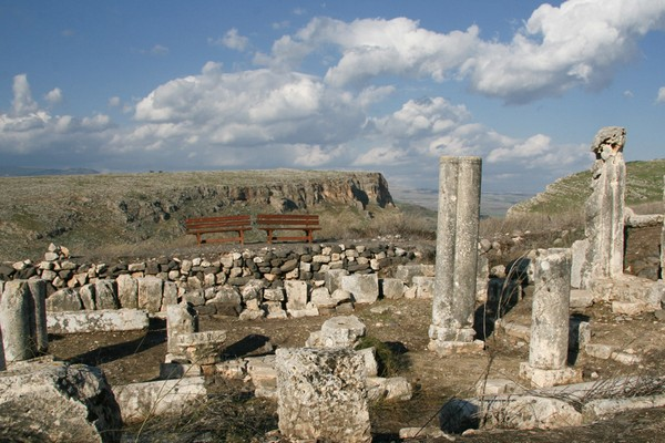 Развалины города Капернаум