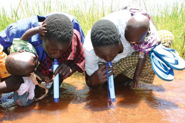 LifeStraw – персональный фильтр питьевой воды