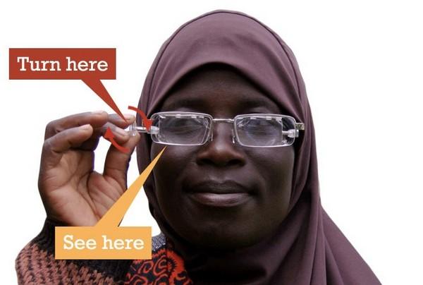 Eyejusters – универсальные очки для развивающихся стран