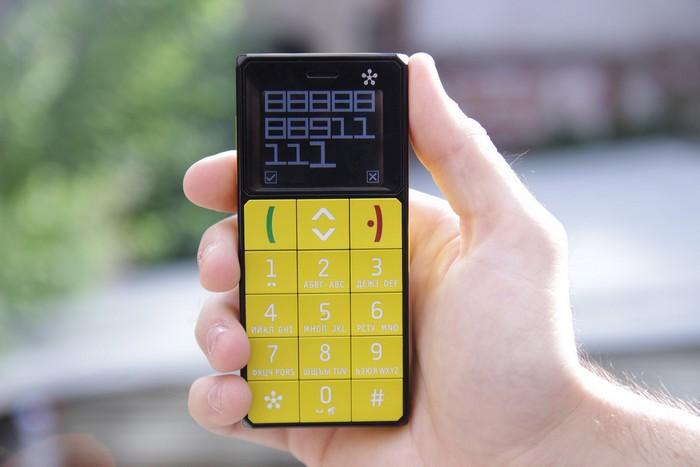 Just5 - мобильный телефон для стариков, детей и молодежи