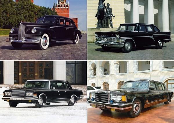 Отечественные автомобили для Президента и Генсеков
