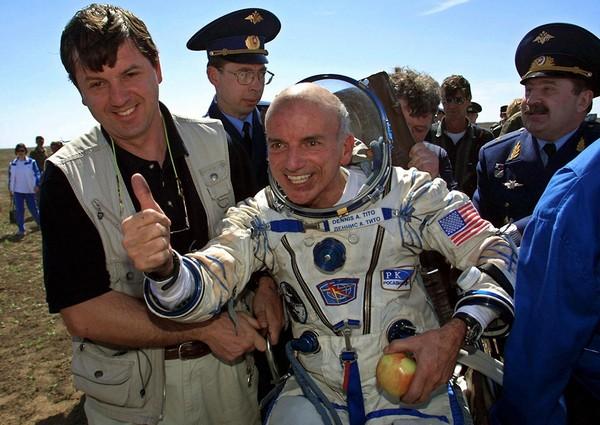 Деннис Тито, первый космический турист, основатель Inspiration Mars