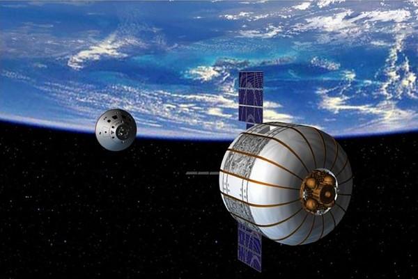 Надувной спутник Genesis II