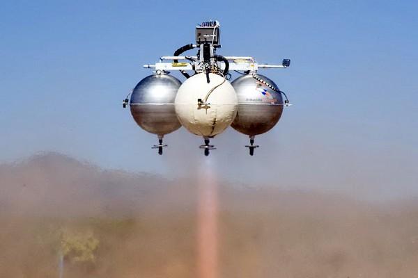 Космический аппарат Pixel от Armadillo Aerospace