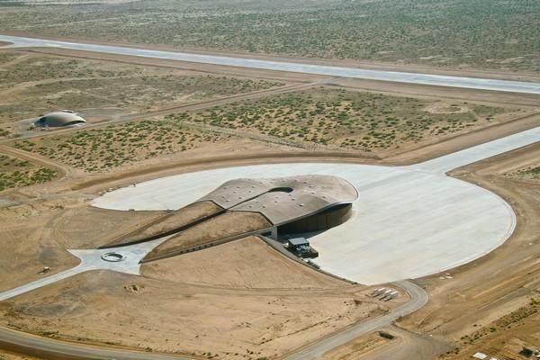 Частный космопорт Spaceport America