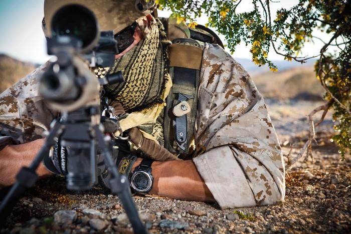 Снайпер частной военной компании Blackwater