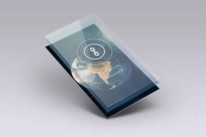 Предполагаемый паспорт криптогосударства Bitnation