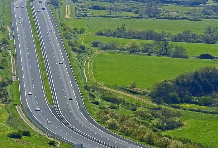 Частная автострада в Германии