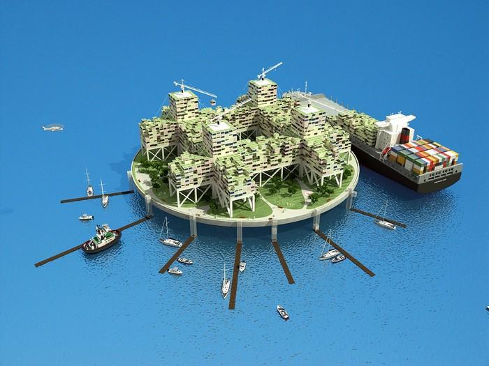 Платформы-государства у берегов Калифорнии от Питера Тиля