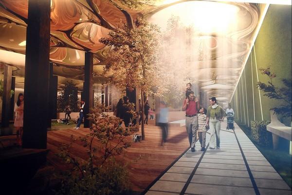 Подземный парк Low Line в Нью-Йорке. Источник фото: wordsinspace.net