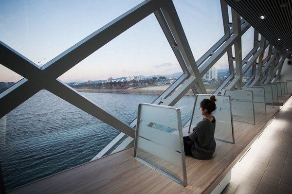 Ayanggichatgil – парк на старом железнодорожном мосту в Южной Корее. Источник фото: architectism.com