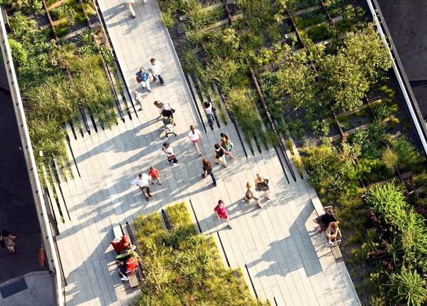 Парк High Line в Нью-Йорке. Источник фото: prolandscapermagazine.com