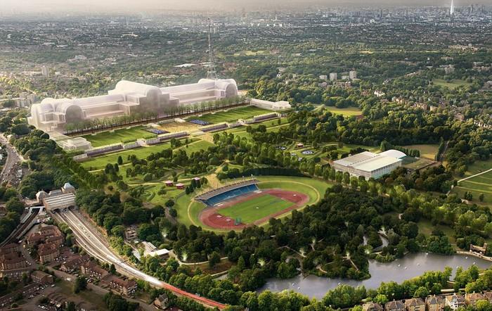 Проект нового Хрустального дворца в Лондоне