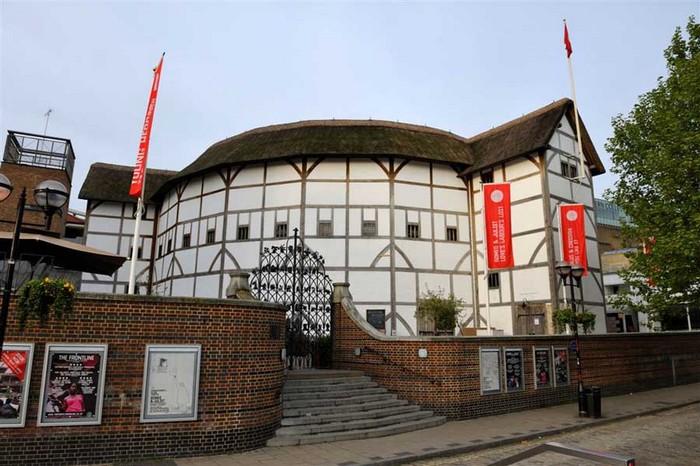 Современный театр Глобус в Лондоне