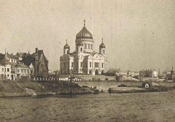Храм Христа Спасителя до Октябрьской революции