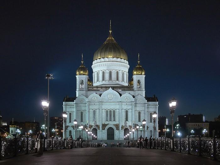Современный Храм Христа Спасителя