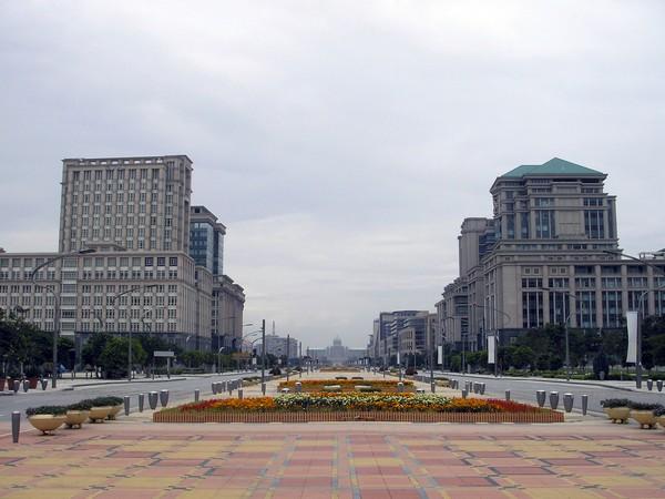 Центральный проспект в городе Путраджая. Источник фото: Википедия