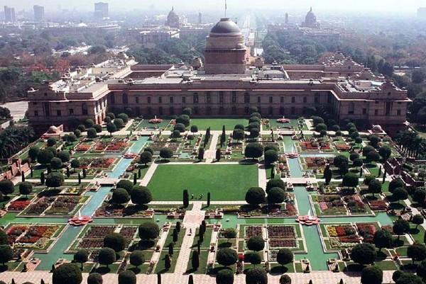 Правительственное здание в Нью-Дели. Источник фото: landscapelover.wordpress.com
