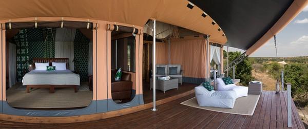 Mahali Mzuri – экологичный отель в Кении от Ричарда Брэнсона. Источник фото: Virgin Limited Edition