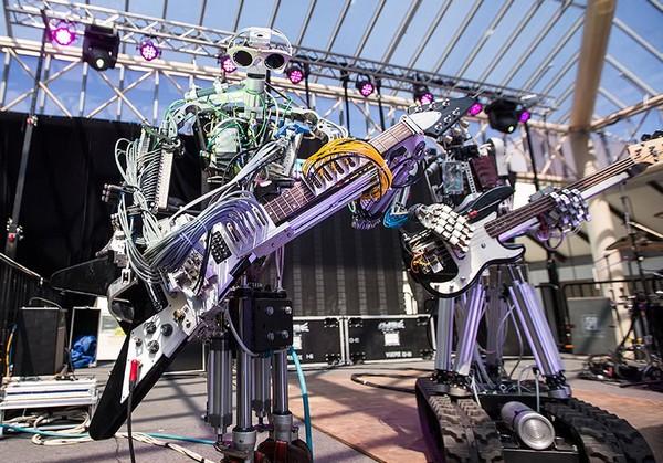 Compressorhead – роботы в стиле хэви-метал. Источник фото: bjwok.com