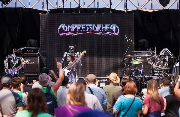 Compressorhead – роботы в стиле хэви-метал. Источник фото: bedfordandbowery.com