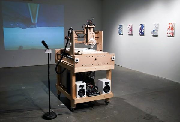 Робот-абстракционист. Источник фото: blog.stylesight.com