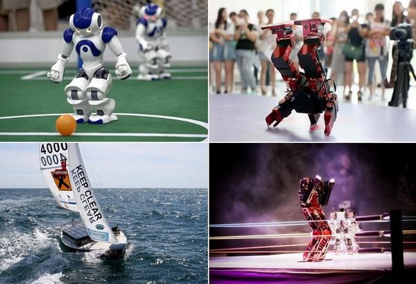 Спортивные соревнования среди роботов