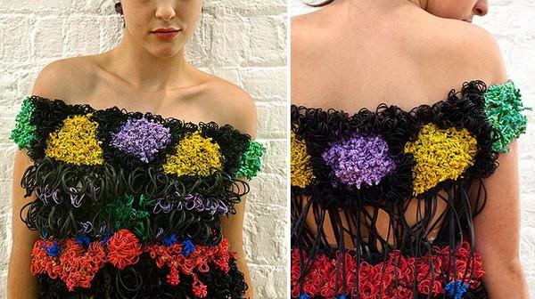 Резиновое платье