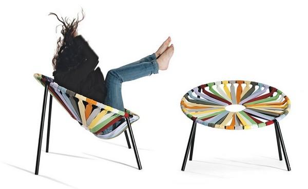 Резиновый стул Lastika Chair