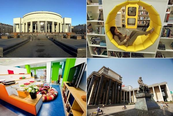 10 самых необычных и знаковых российских библиотек
