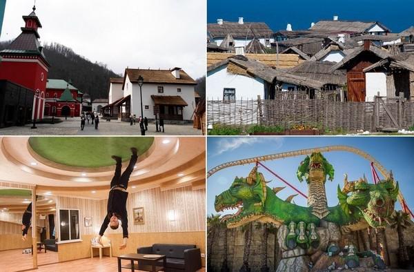 Лучшие тематические парки России