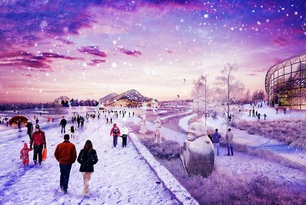 Развлекательный комплекс Парк Россия в Домодедово. Источник фото: realty.rbc.ru