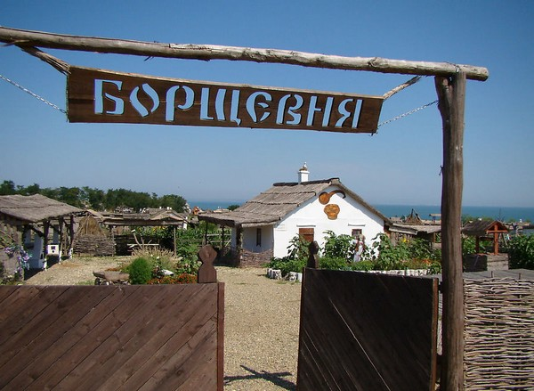 Казачья станица Атамань на Кубани. Источник фото: visota.turbina.ru