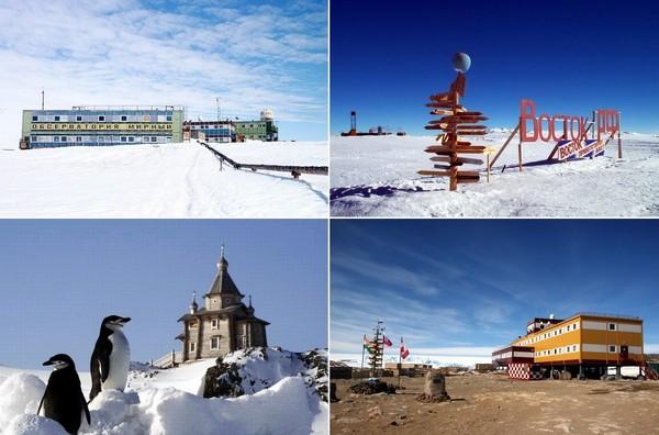 Легендарные советские и российские антарктические станции