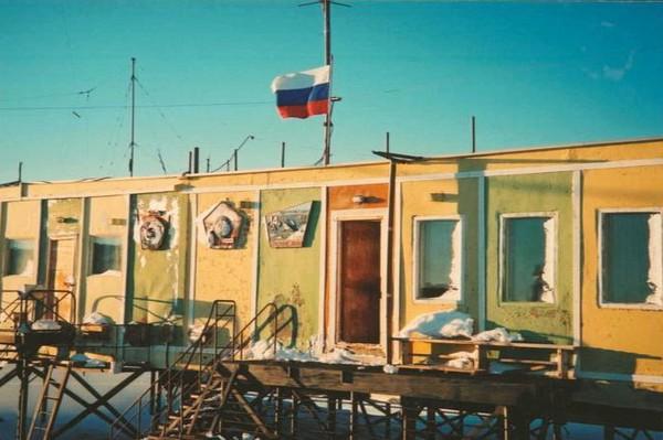 Молодежная – бывшая «столица» Антарктиды. Источник фото: dxing.at-communication.com