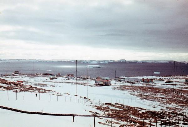 Молодежная – бывшая «столица» Антарктиды. Источник фото: wikimapia.org