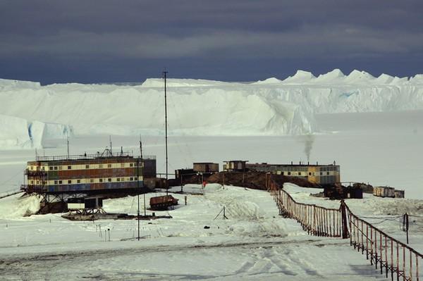 Мирный: первая советская антарктическая станция. Источник фото: ostefanova.livejournal.com