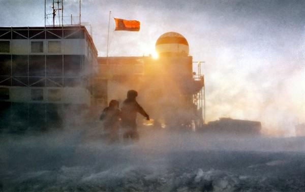 Мирный: первая советская антарктическая станция. Источник фото: lensart.ru