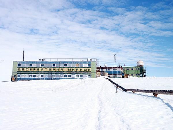 Мирный: первая советская антарктическая станция. Источник фото: antarktis.ru