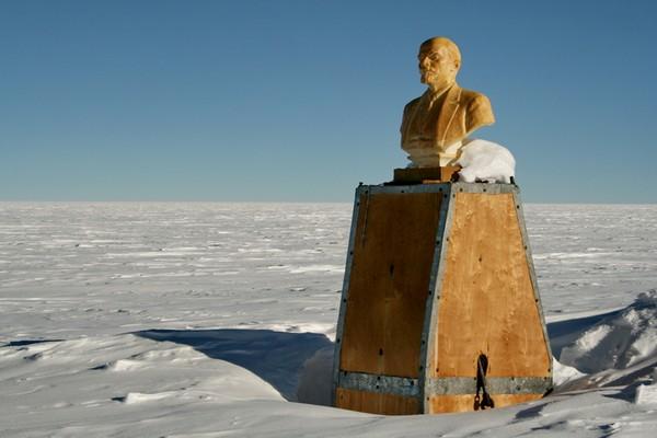 Полюс недоступности – самая отдаленная станция. Источник фото: morfindel.livejournal.com