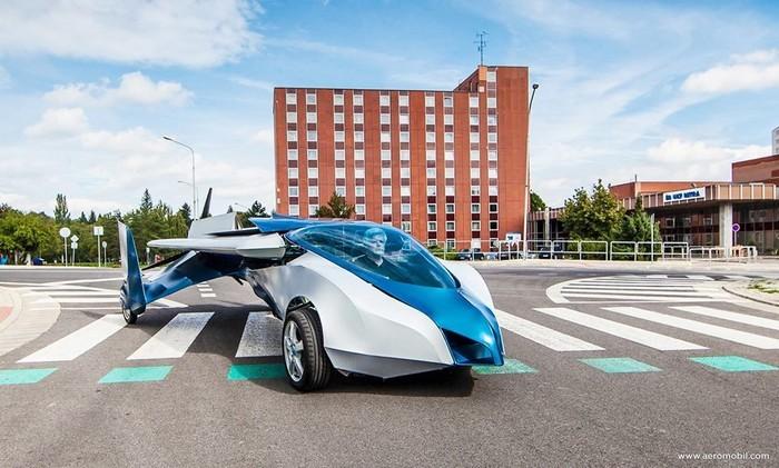 AeroMobil 3.0 – самый настоящий летающий автомобиль