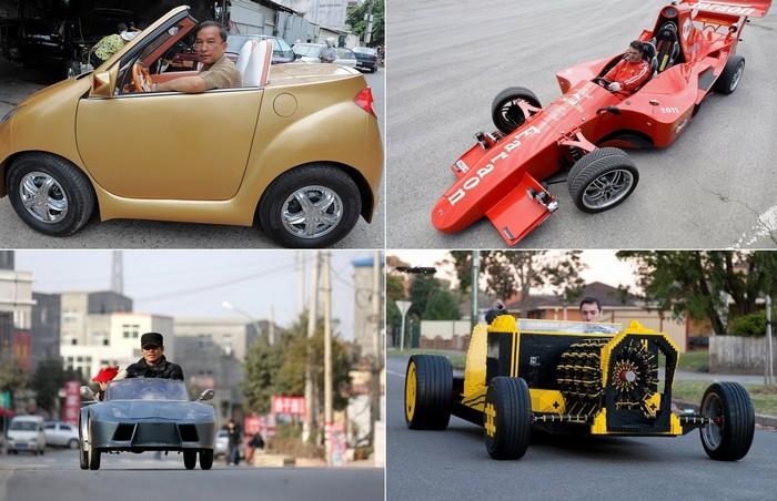 Фото самых необычных машин