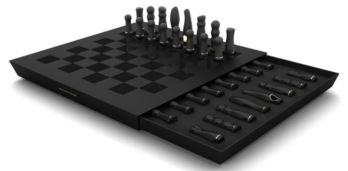Vibrator Chess Set – электрические шахматы с сексуальным подтекстом