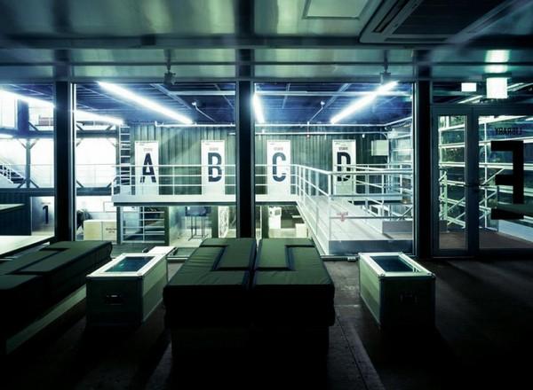 Platoon Kunsthalle – общественный центр в Берлине. Источник фото: retaildesignblog.net