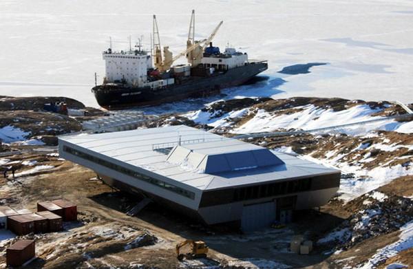 Индийская станция в Антарктиде. Источник фото: ncaor.gov.in