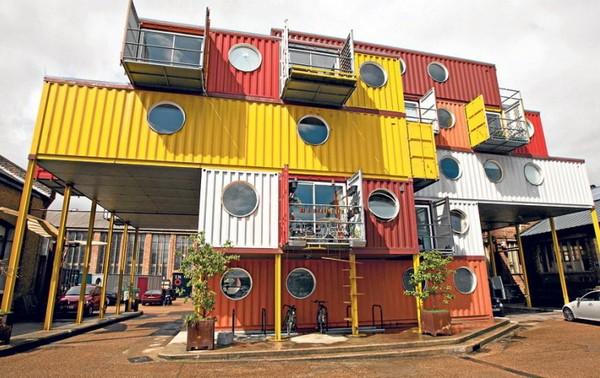 Container City – жилой комплекс в Лондоне. Источник фото: missimmyslondon.com