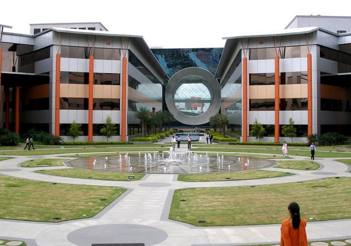 Офис одной из технологический компаний в Бангалоре