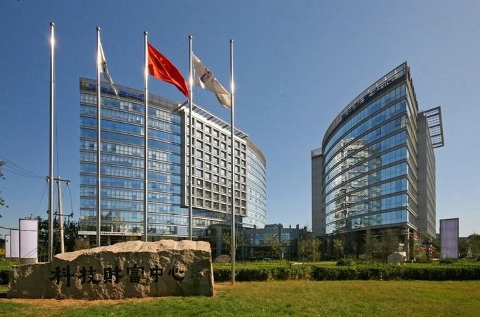 Офисные зданий в китайском технопарке Чжунгуаньцунь