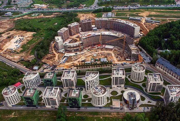 Строительство инновационного центр в Сколково